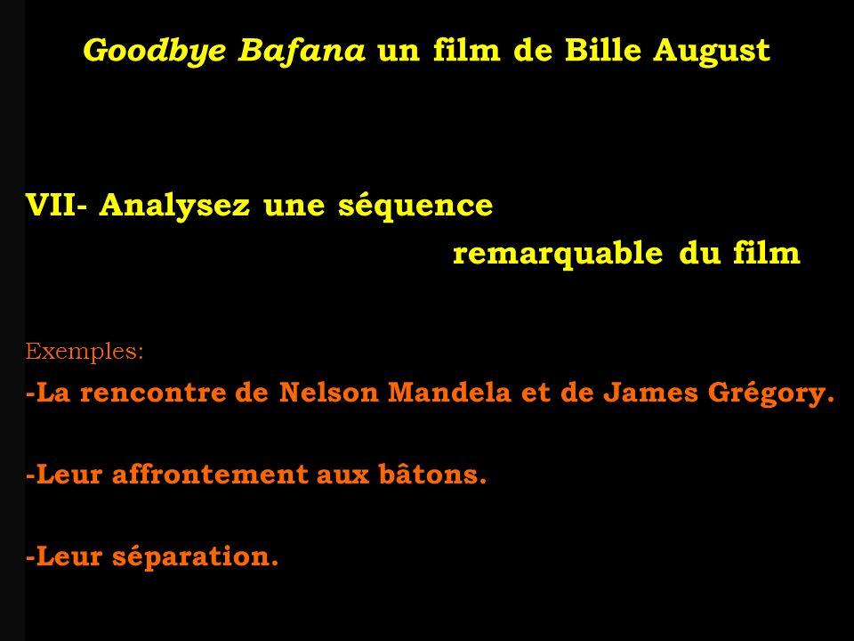 louis-jean Roparslouis-Jean ropars VII- Analysez une séquence remarquable du film Exemples: -La rencontre de Nelson Mandela et de James Grégory.