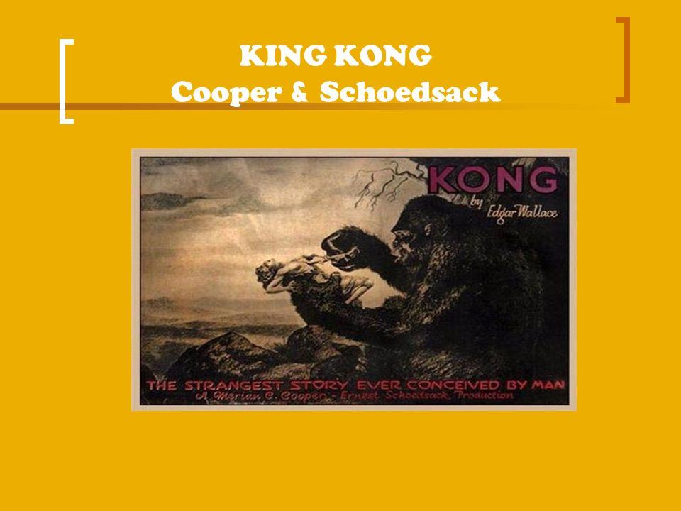 KING KONG Cooper & Schoedsack