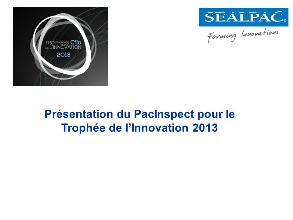 Présentation du PacInspect pour le Trophée de lInnovation 2013
