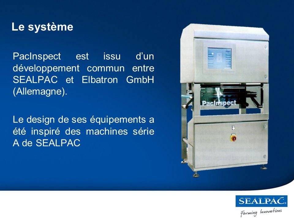 PacInspect est issu dun développement commun entre SEALPAC et Elbatron GmbH (Allemagne).