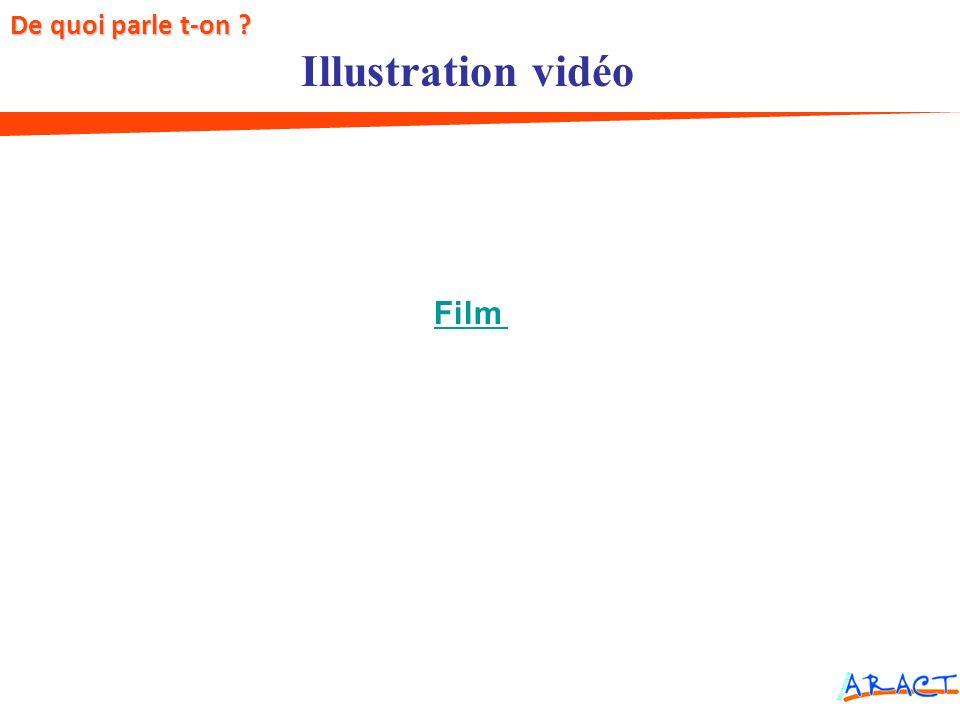 Facteurs de risques Illustration vidéo De quoi parle t-on ? Film