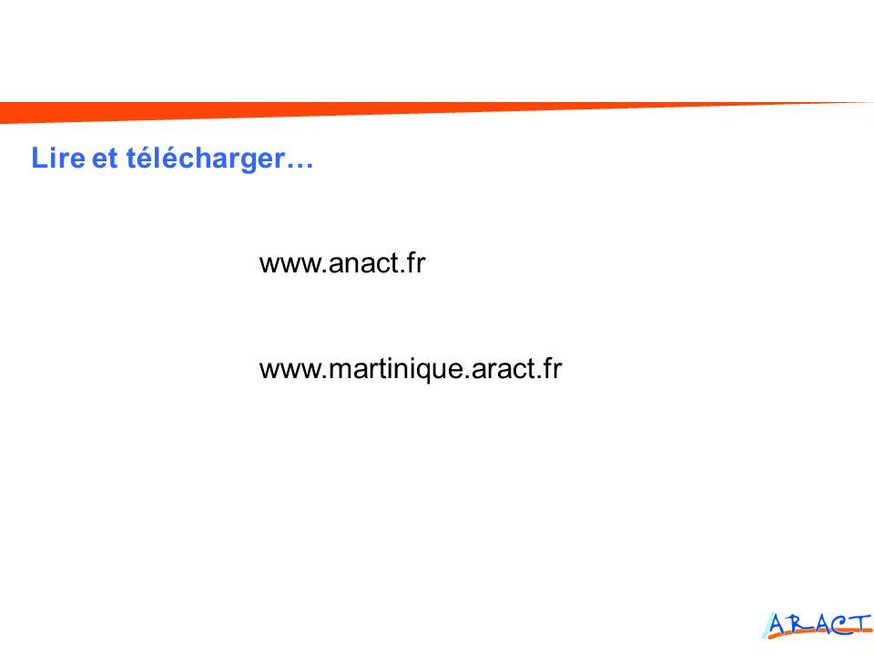Lire et télécharger… www.anact.fr www.martinique.aract.fr