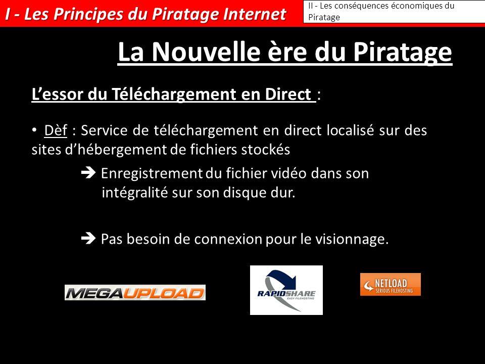 Dèf : Service de téléchargement en direct localisé sur des sites dhébergement de fichiers stockés Enregistrement du fichier vidéo dans son intégralité sur son disque dur.