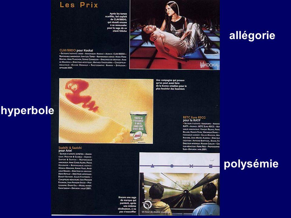 allégorie hyperbole polysémie