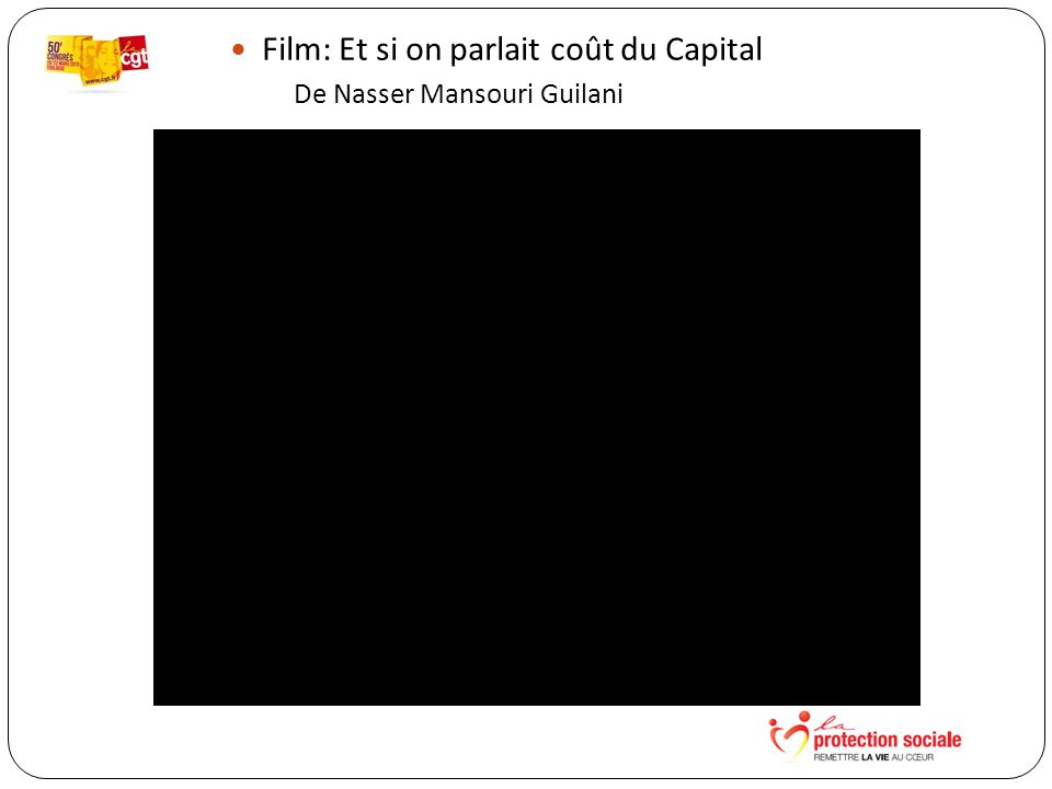 Film: Et si on parlait coût du Capital De Nasser Mansouri Guilani