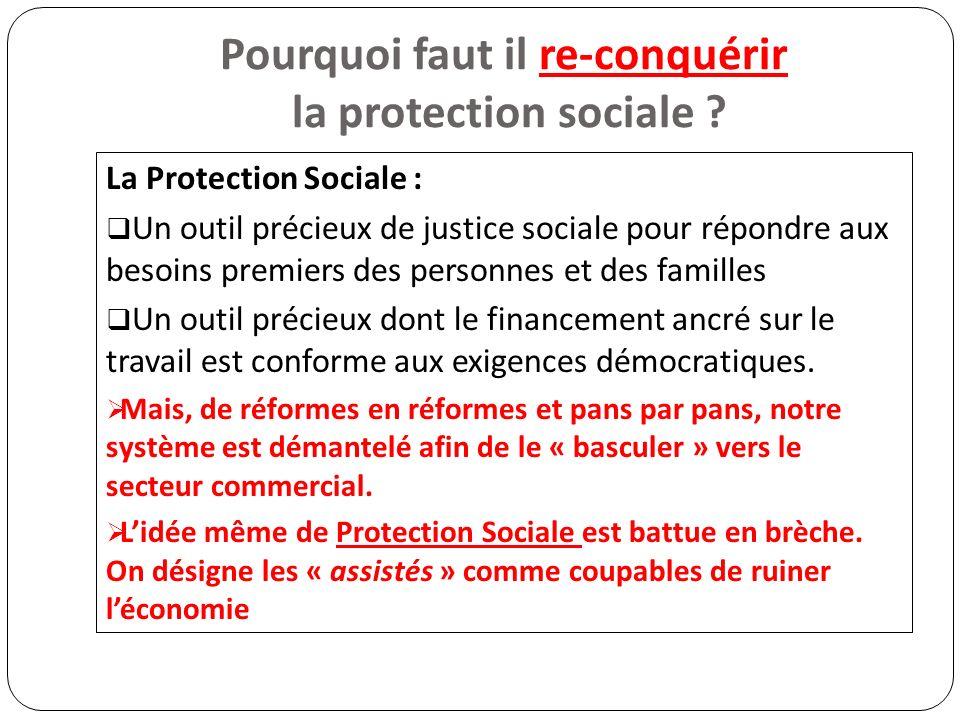 Pourquoi faut il re-conquérir la protection sociale .