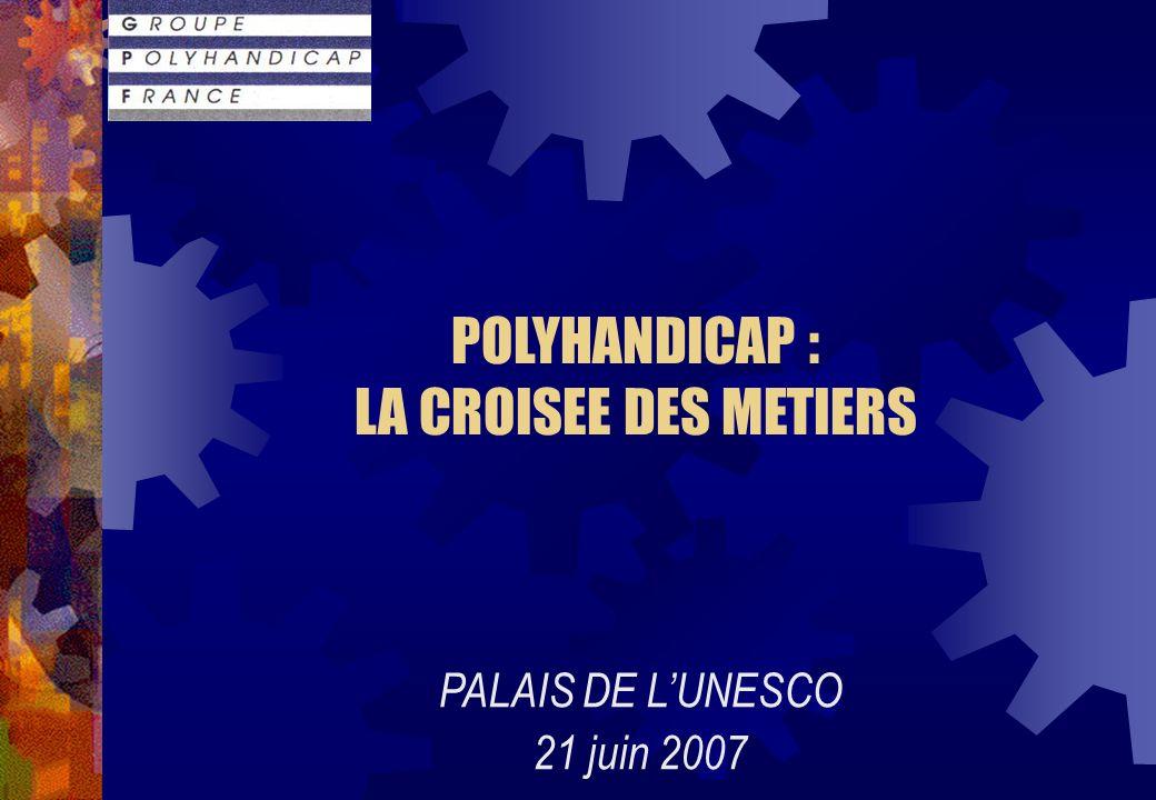 POLYHANDICAP : LA CROISEE DES METIERS PALAIS DE LUNESCO 21 juin 2007
