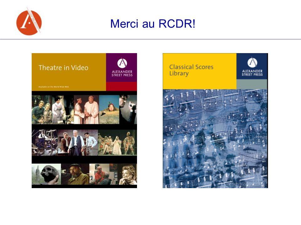 Merci au RCDR!
