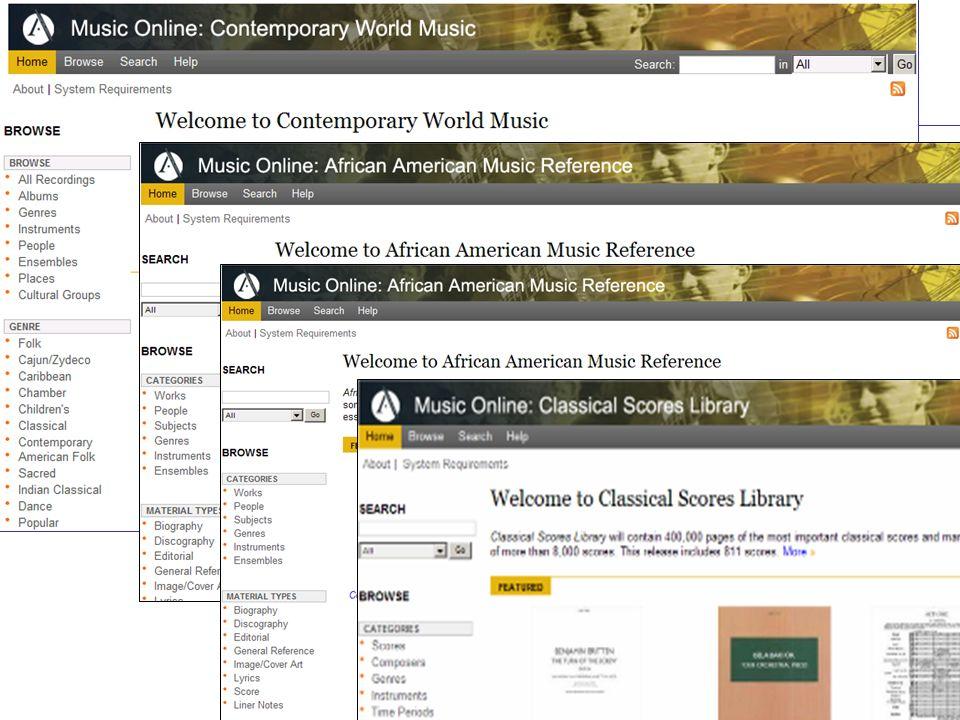 Music Online : Convivialité
