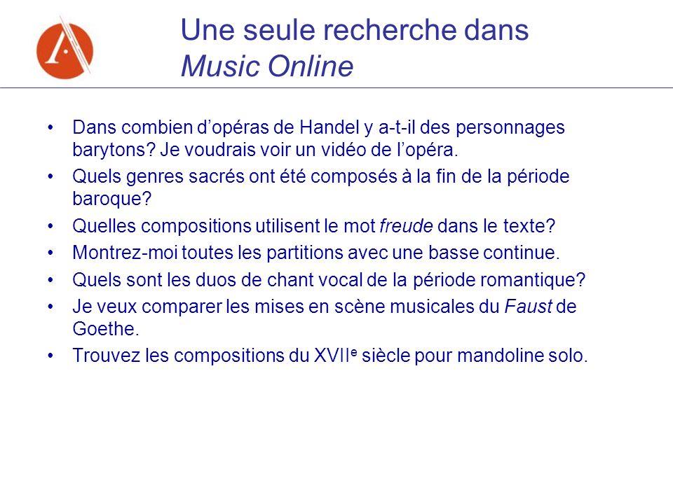 Dans combien dopéras de Handel y a-t-il des personnages barytons? Je voudrais voir un vidéo de lopéra. Quels genres sacrés ont été composés à la fin d