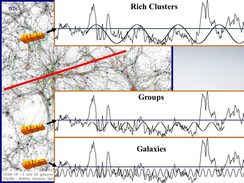 Faculté des arts et des sciences Département de physique Rich Clusters Groups Galaxies