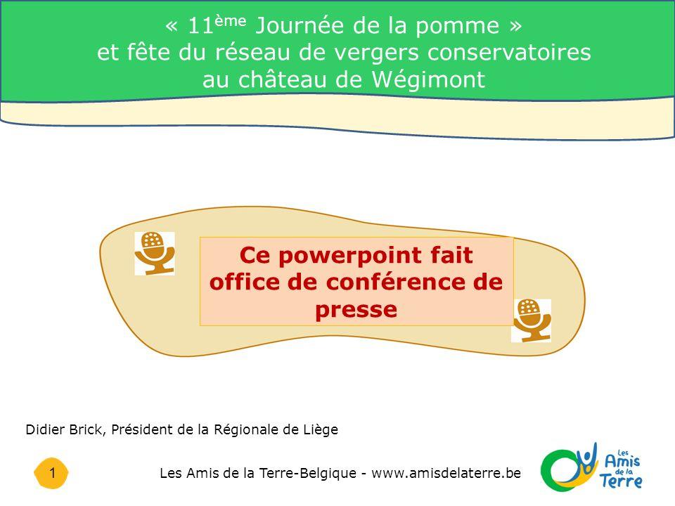 22 Les Amis de la Terre-Belgique - www.amisdelaterre.be Le travail d une équipe « Lorsque nous plantons de nouveaux arbres, nous plantons les graines de la paix ».