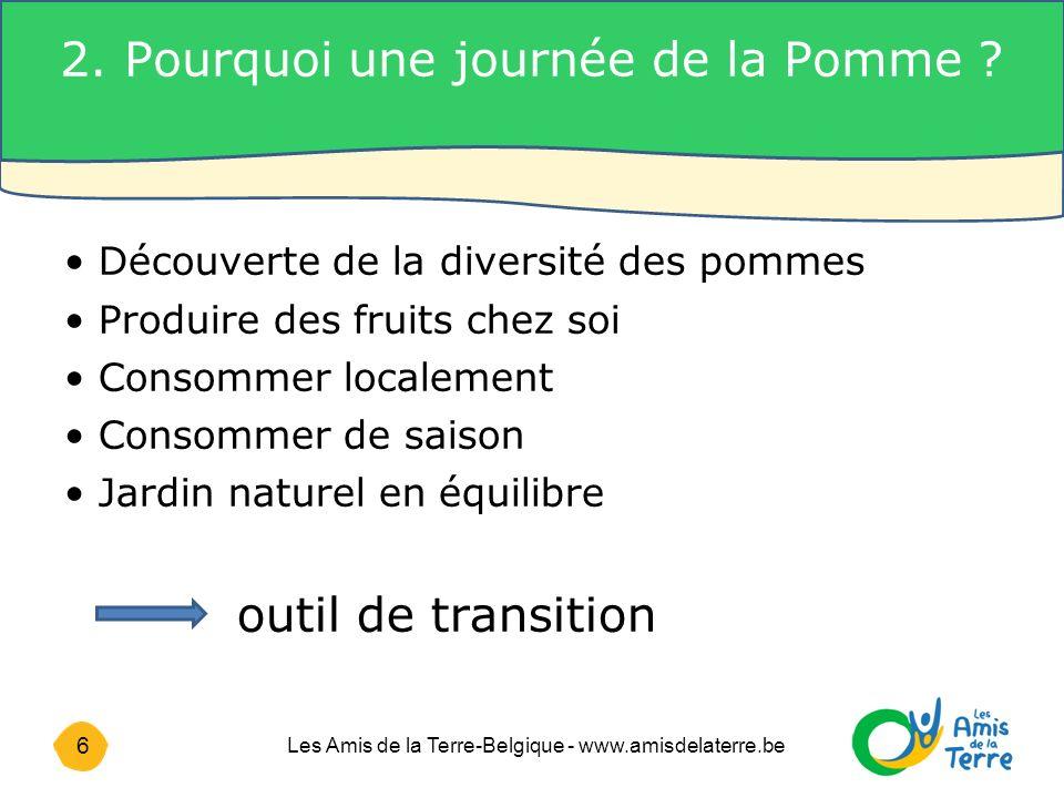 6 Les Amis de la Terre-Belgique - www.amisdelaterre.be 2.