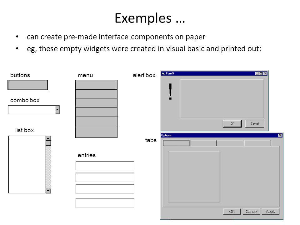 Remarques Lexemple précédent est simpliste, car il y a seulement un intervenant, quelques tâches simples, et nous navons pas analysé la fréquence des tâche.