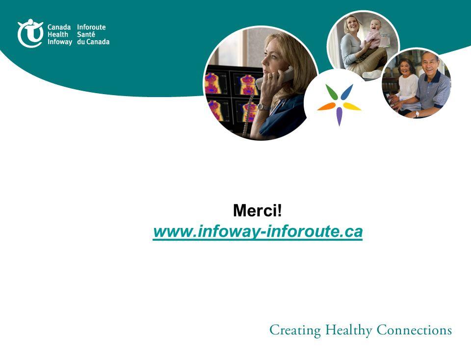 Merci! www.infoway-inforoute.ca www.infoway-inforoute.ca