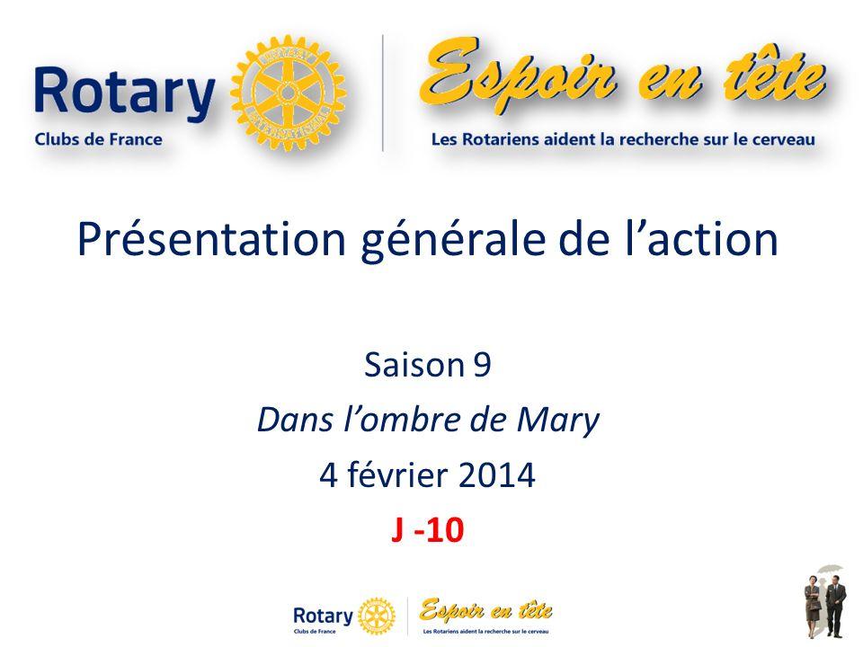 Présentation générale de laction Saison 9 Dans lombre de Mary 4 février 2014 J -10 1