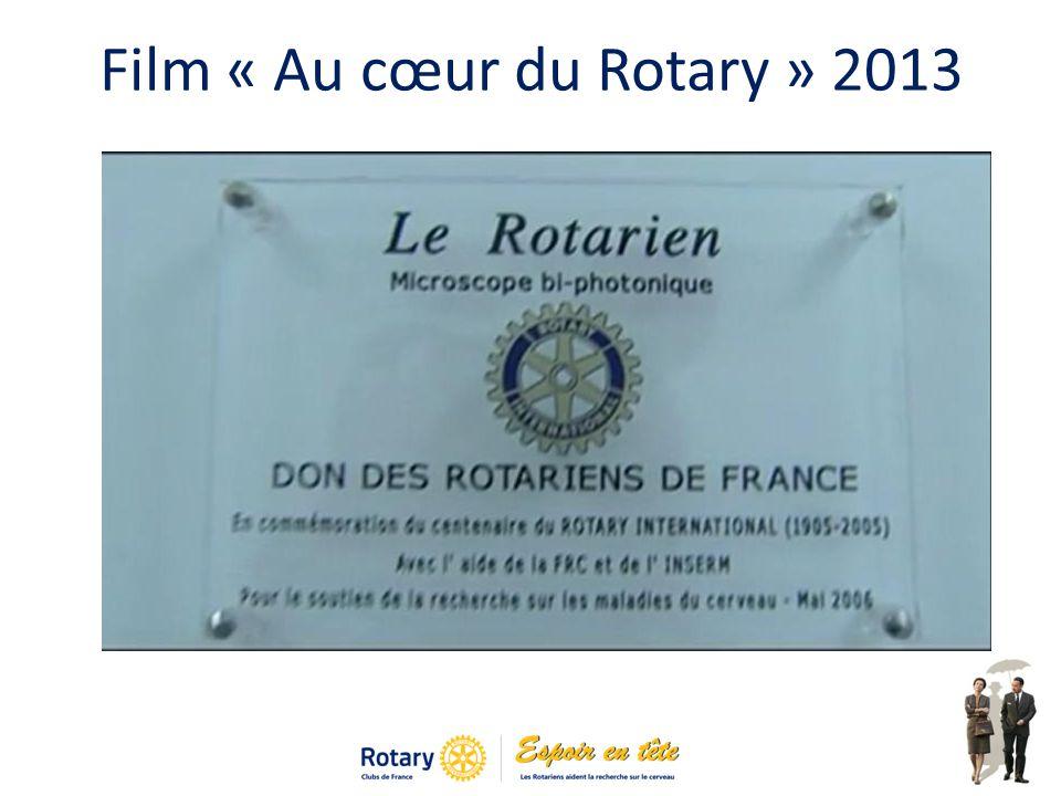 Film « Au cœur du Rotary » 2013