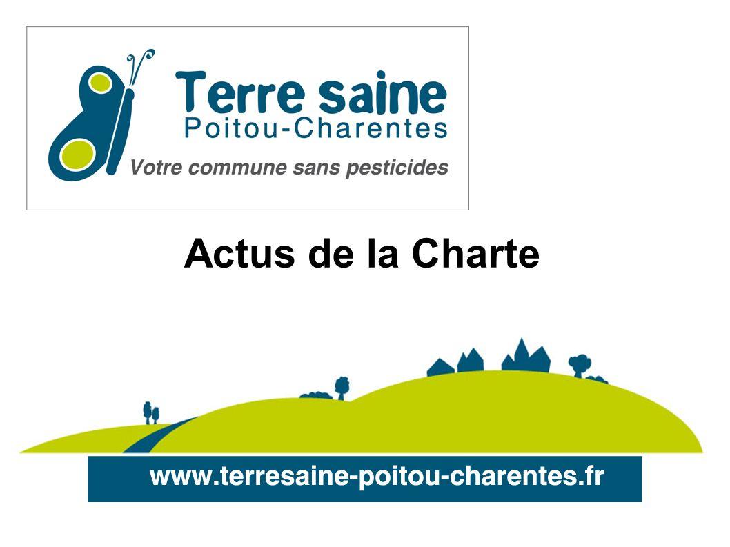 Terre saine 2009 4/02/09 : lancement officiel de la Charte Terre saine à Nouaillé-Maupertuis 4/05/09 : conférence de presse de S.