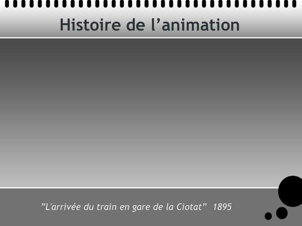 Histoire de lanimation L'arrivée du train en gare de la Ciotat 1895