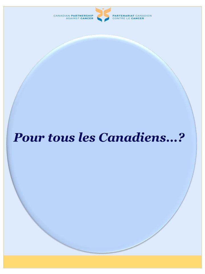 Pour tous les Canadiens…?