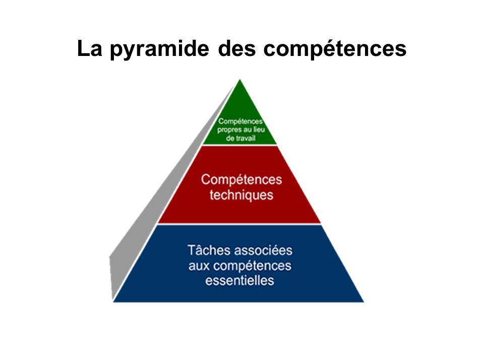 La pyramide des compétences