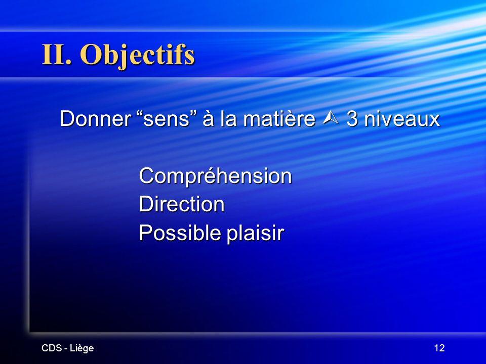 CDS - Liège12 II.