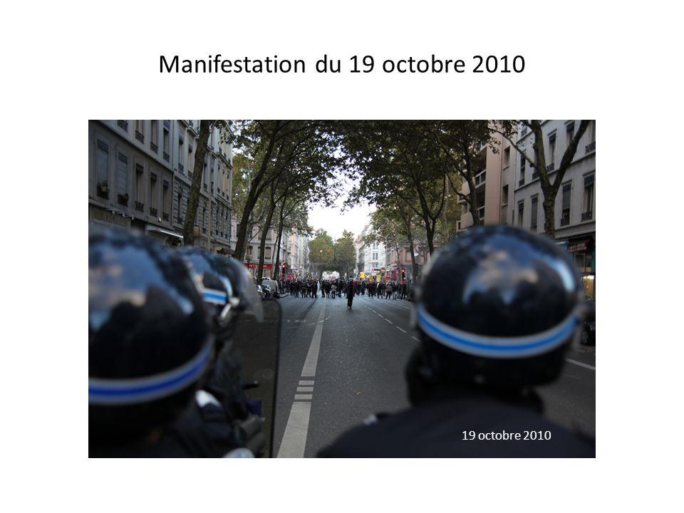 Manifestation du 19 octobre 2010 19 octobre 2010