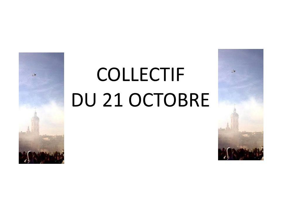 COLLECTIF DU 21 OCTOBRE