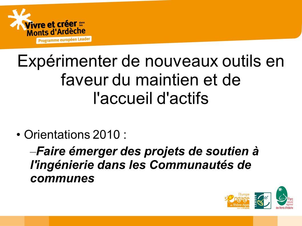 Coopérer pour questionner la ruralité Orientation 2010 : – Définir la stratégie coopération du GAL pour mettre en oeuvre les premiers projets de coopération début 2010