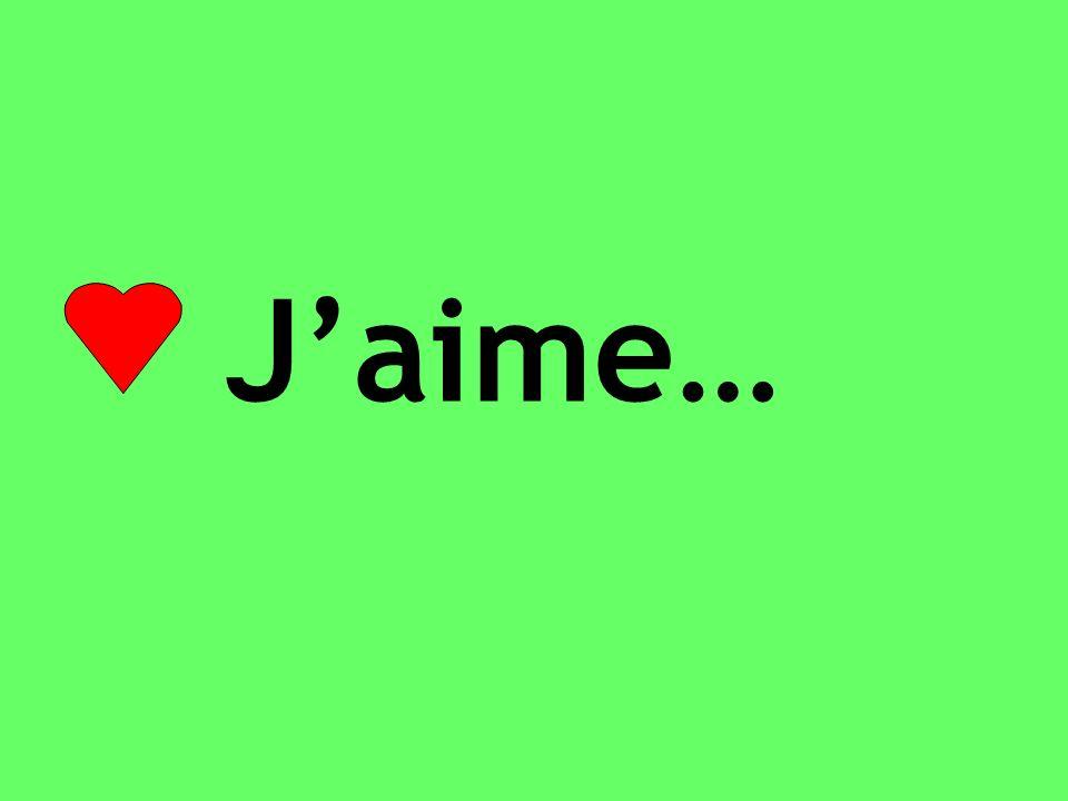 Jadore…