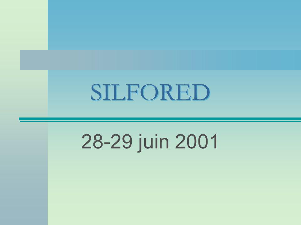SILFORED 28-29 juin 2001