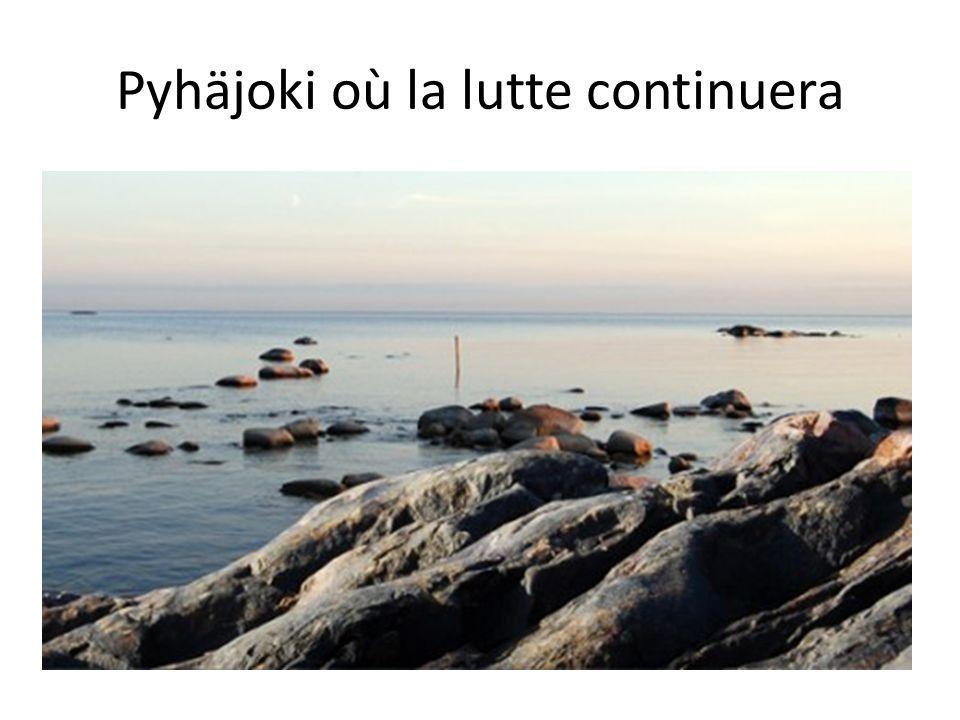 Pyhäjoki où la lutte continuera