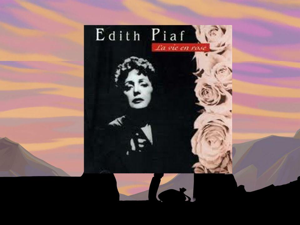 Edith Piaf est connue pour quelle chanson.