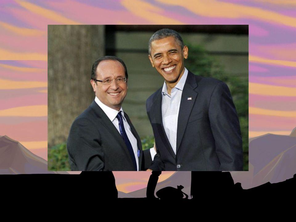 Qui est le président de France depuis 2012.