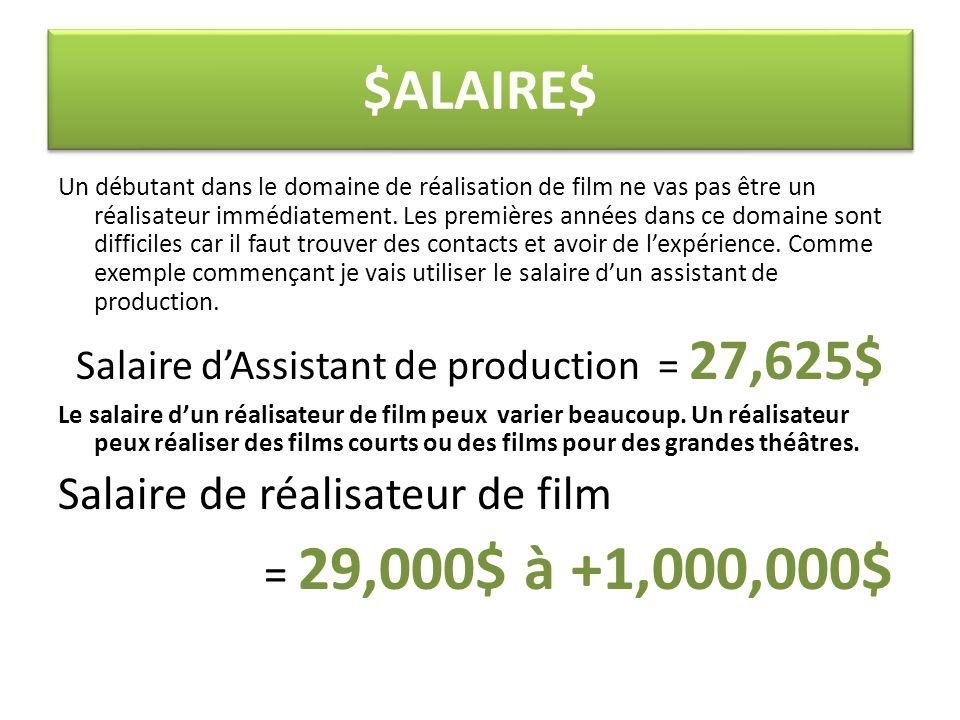 Compagnies à la recherche de réalisateurs de film Il y as aucun compagnie a la recherche de réalisateur de film.