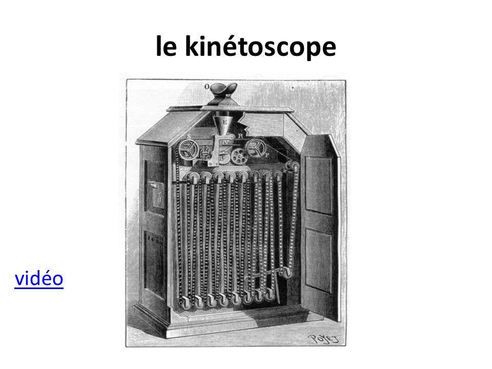le kinétoscope vidéo