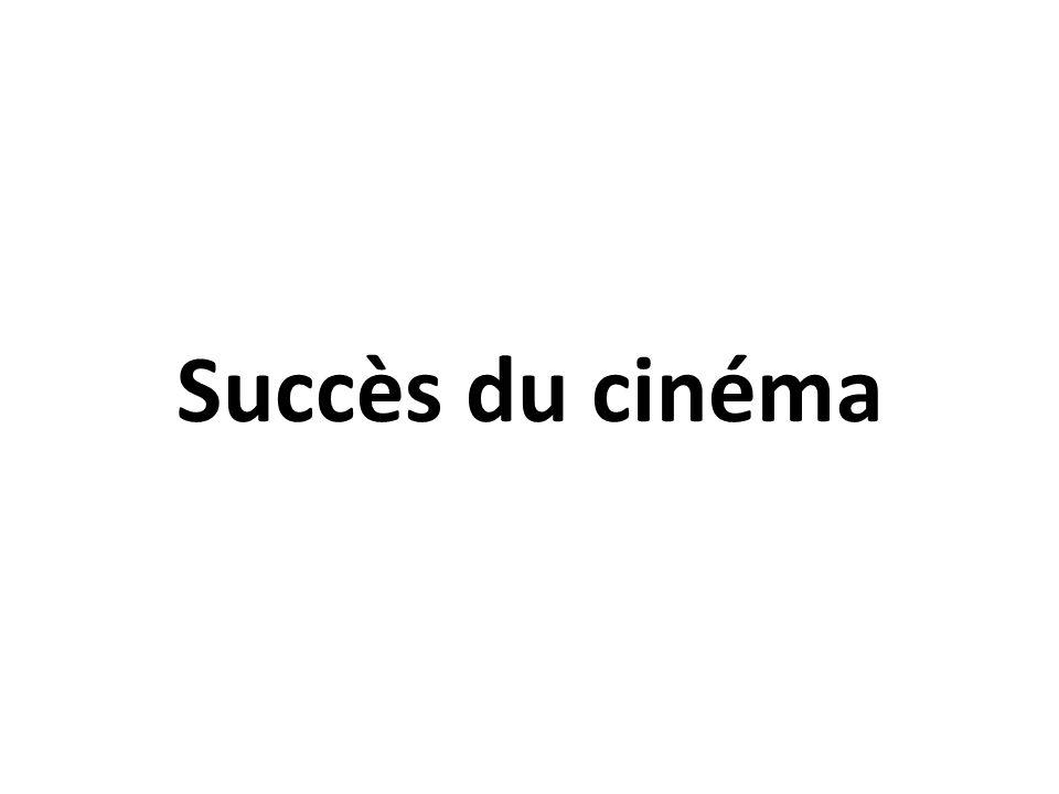 Succès du cinéma