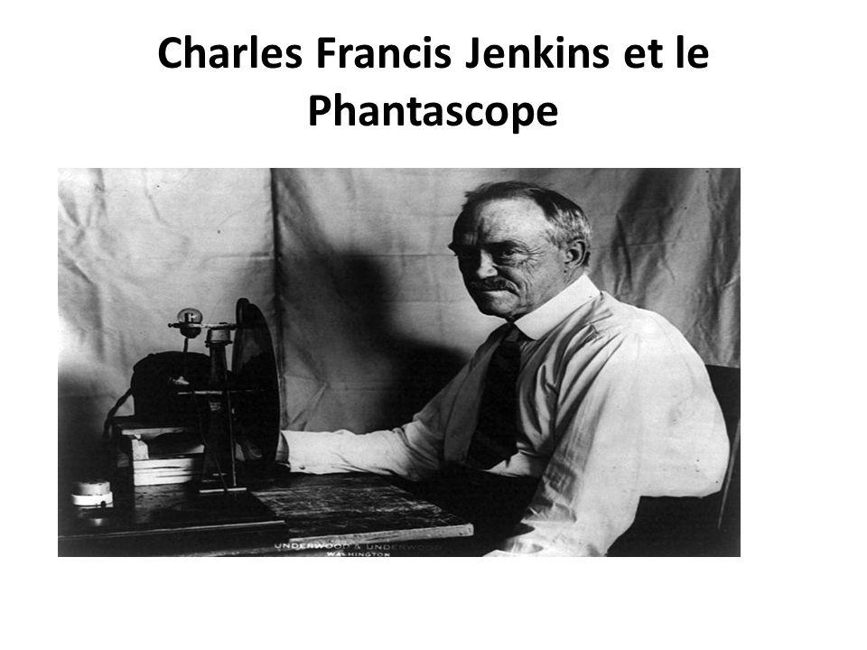 Charles Francis Jenkins et le Phantascope