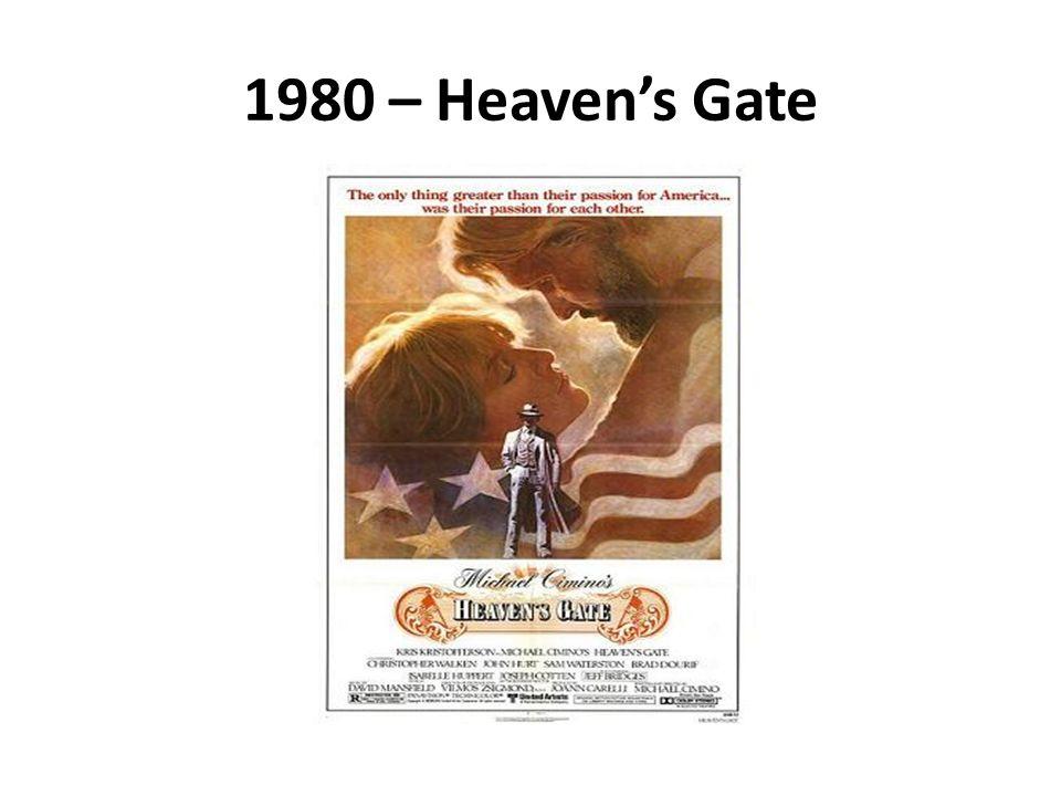 1980 – Heavens Gate