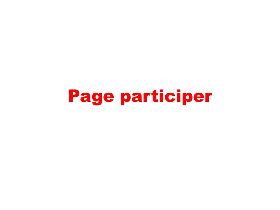 Page participer