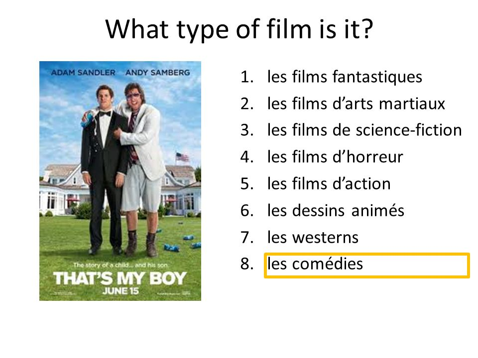 What type of film is it.