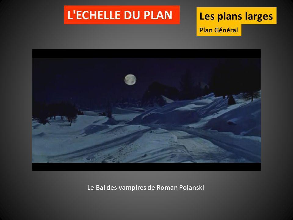 L'ECHELLE DU PLAN Les plans larges Plan Général Le Bal des vampires de Roman Polanski