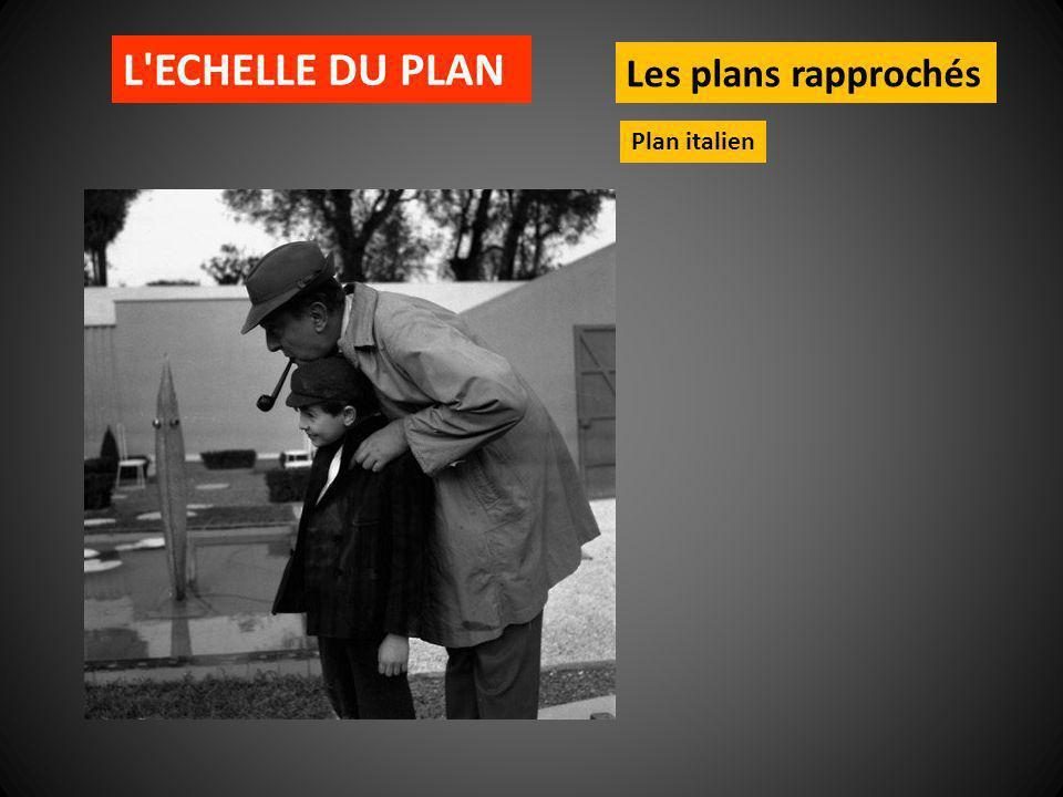 L'ECHELLE DU PLAN Les plans rapprochés Plan italien