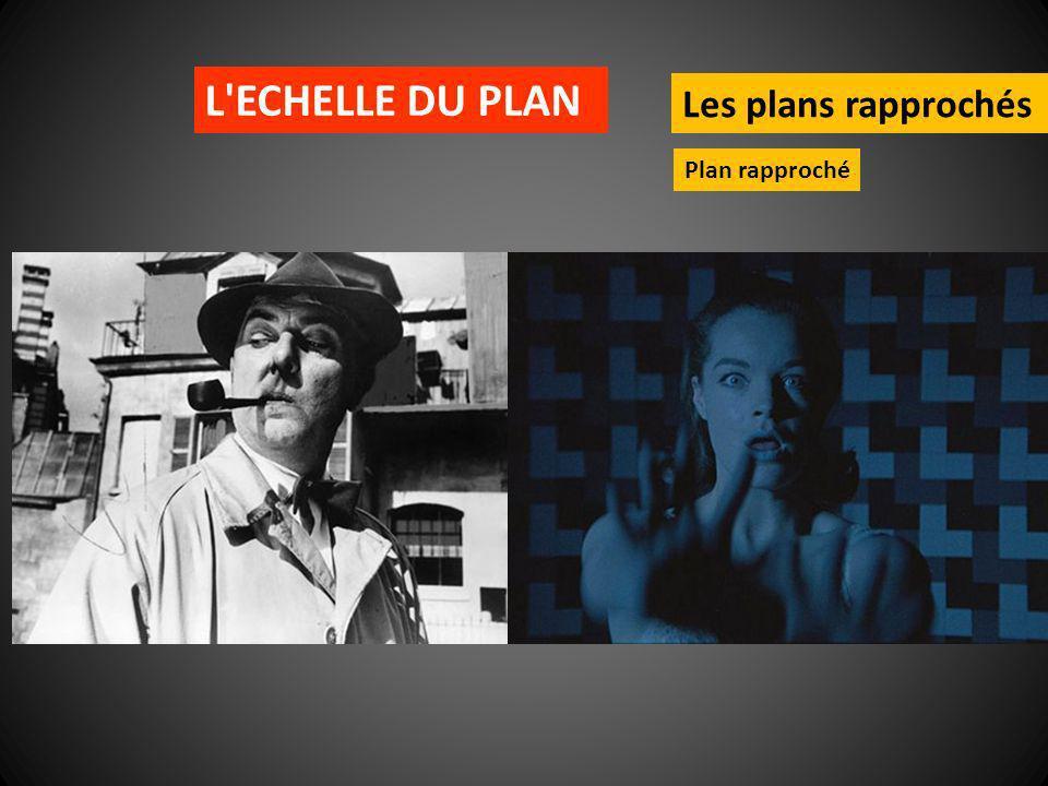 L'ECHELLE DU PLAN Les plans rapprochés Plan rapproché