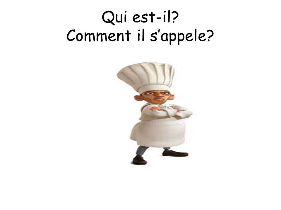 Il est l'un des plus grands chefs cuisiniers Il sappelle Auguste Gusteau
