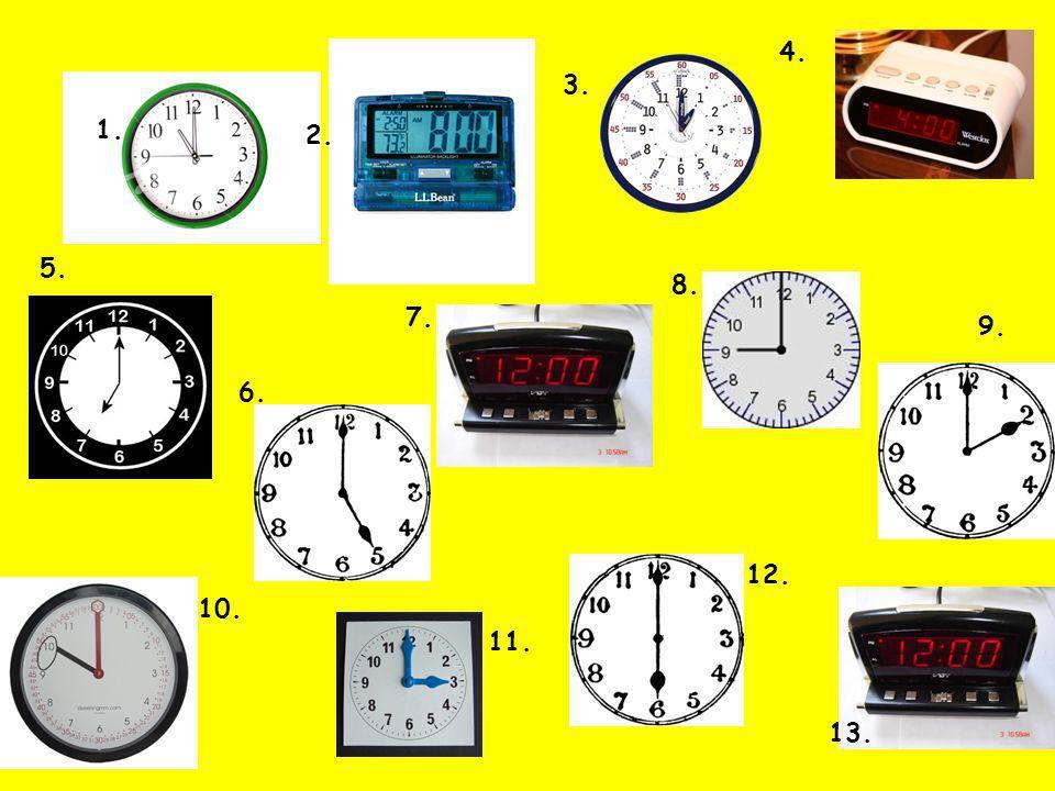 Il est minuit Quelle heure est-il?