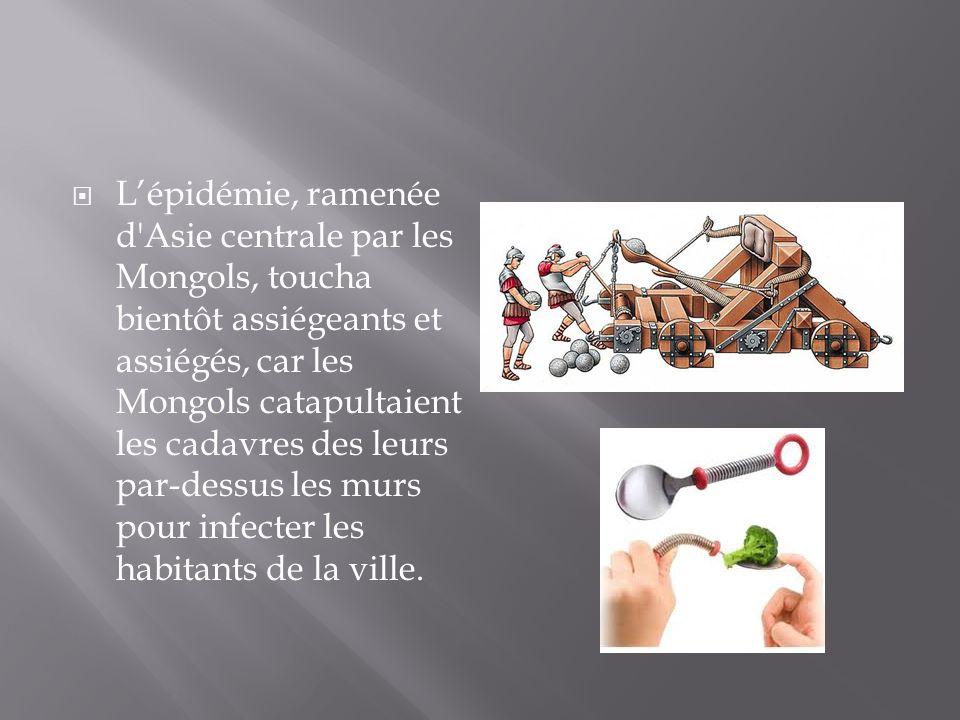 La médecine du XIV e siècle était bien impuissante face à la peste qui se répandait.