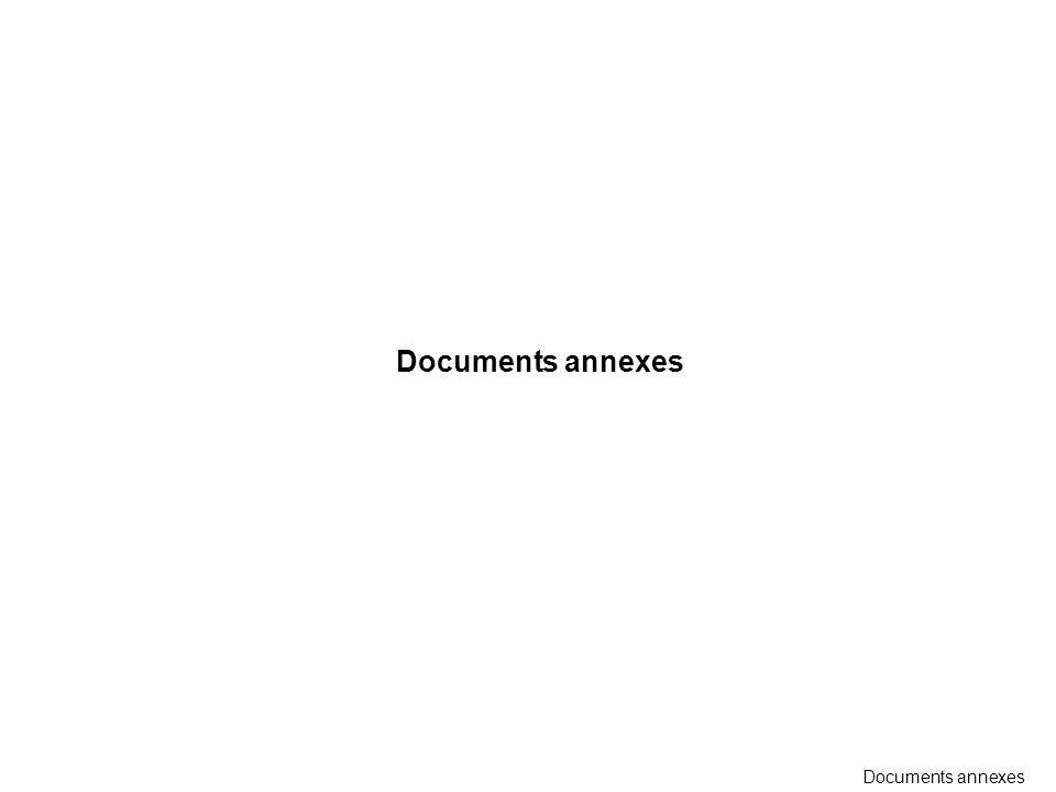 Documents annexes