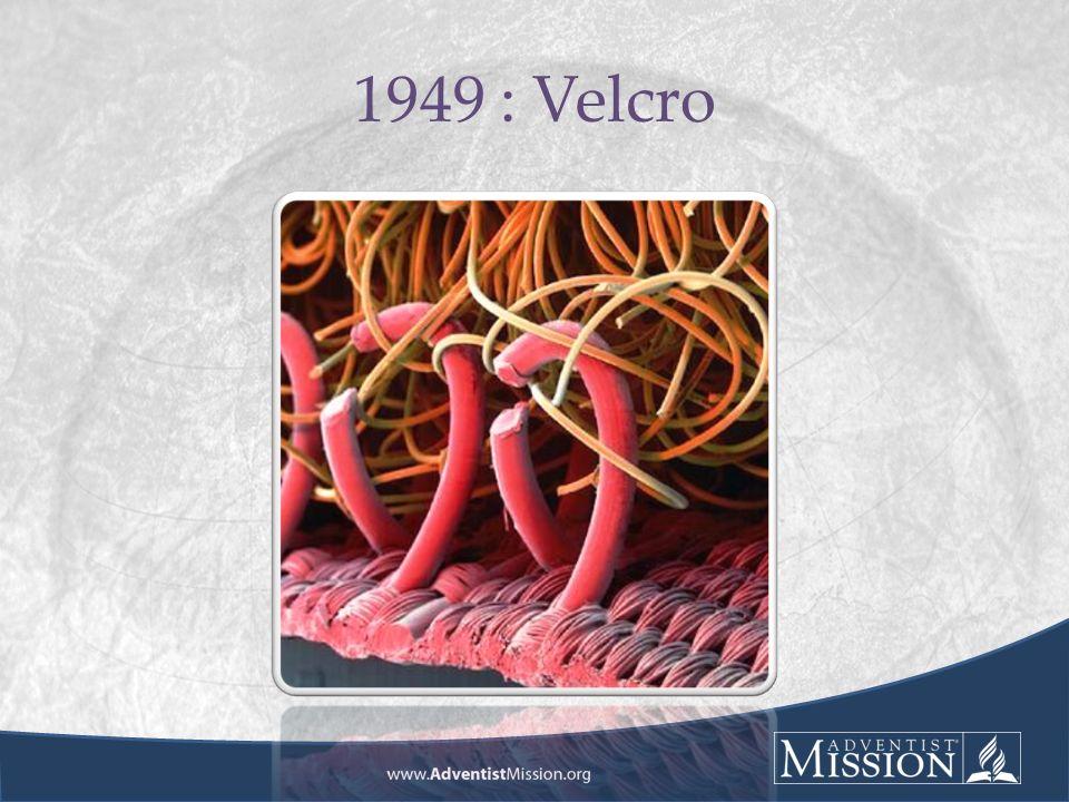 1949 : Velcro