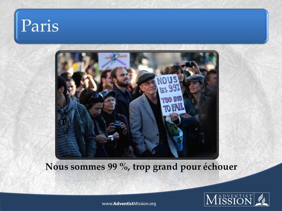 Paris Nous sommes 99 %, trop grand pour échouer